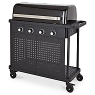 Blooma Rockwell 400 4 burner Gas Black Barbecue