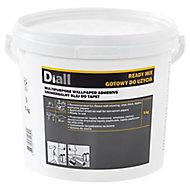 Diall Ready mixed Wallpaper Adhesive 5kg