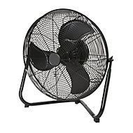 """Blyss Black 18"""" Ventilation Floor fan"""