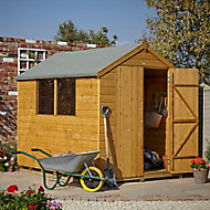 Forest 8x6 Apex Shiplap Wooden Shed