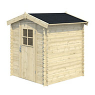 5x5 MOKAU Apex roof Tongue & groove Wooden Shed