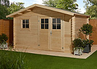 12x9 TAMAN Apex roof Tongue & groove Wooden Shed