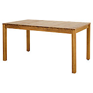 Denia Wooden 6 seater Dining table