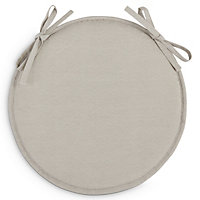Cocos Dove Plain Seat cushion
