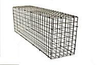 Galvanised Steel Gabion kit, (H)40cm (W)1.2m
