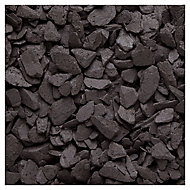 Blooma Blue 20mm Slate Decorative chippings, Large 22.5kg Bag