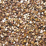 Blooma Naturally rounded Brown Decorative stones, Large 22.5kg Bag