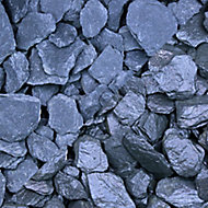 Blooma Blue Slate Decorative chippings, Bulk 22.5kg Bag