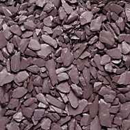 Blooma Plum Decorative slate chippings 22500g
