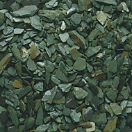 Blooma Green Decorative slate chippings 22500g