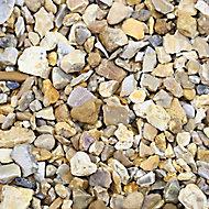 Blooma Solent Gold Decorative stones, Large 22.5kg Bag