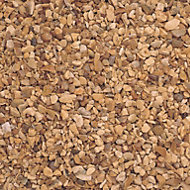 Blooma Golden brown Gravel Decorative stone 22500g