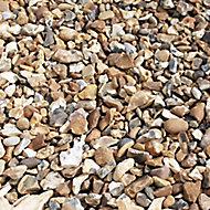 Blooma Golden brown Decorative stones, Large 22.5kg Bag