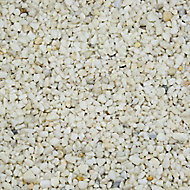 Blooma Alpine White Decorative stones, Large 5kg Bag