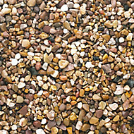 B&Q Naturally rounded Brown Decorative stones, Bulk Bag
