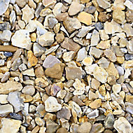 B&Q Solent Gold Decorative stones, Bulk 790kg