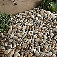 Blooma Pearl grey Decorative stones, Bulk Bag