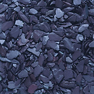 Blooma Blue 10-30mm Slate Decorative chippings, Bulk 790kg Bag