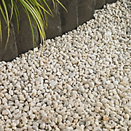 Blooma Spar White Decorative stones, Bulk Bag