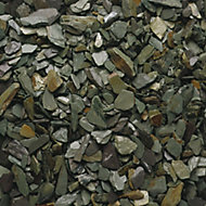 Blooma Green 20mm Slate Decorative chippings, Bulk 790kg Bag