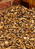 Blooma Brown 40mm Stone Pebbles, 790kg Bag
