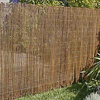 Wicker Garden screen (H)1.5m (W)3m