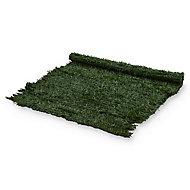 Plastic Green Artificial hedge screen (H)1m (W)3m