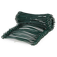 Blooma PVC & steel Garden screen link 13mm, Pack of 200