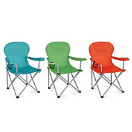 Molloy Multicolour Metal Camping Chair
