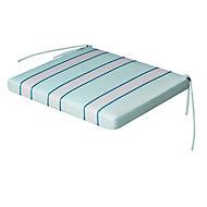 Isla Multicolour Striped Seat pad