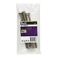 M8 Coach bolt (L)150mm, Pack of 5