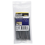 Diall Round wire nail (L)90mm (Dia)4mm 100g, Pack