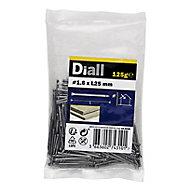 Diall Lost head nail (L)25mm (Dia)1.6mm 100g, Pack