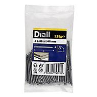 Diall Lost head nail (L)40mm (Dia)2.36mm 120g, Pack