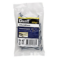Diall Clout nail (L)40mm (Dia)3mm 120g, Pack