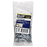 Diall Clout nail (L)50mm (Dia)3mm 120g, Pack