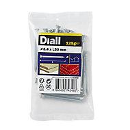 Diall Masonry nail (L)50mm (Dia)3.4mm 120g, Pack