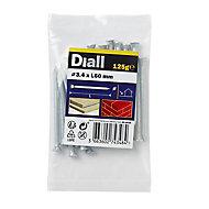 Diall Masonry nail (L)60mm (Dia)3.4mm 120g, Pack