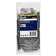 Diall Oval nail (L)50mm 500g, Pack