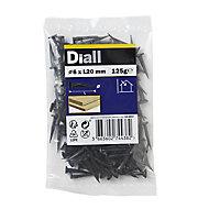 Diall Cut tacks (L)20mm (Dia)6mm 120g, Pack