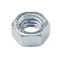 Diall M5 Carbon steel Hex Nut, Pack of 20