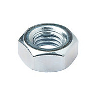 Diall M10 Carbon steel Lock Nut, Pack of 200