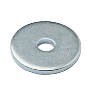 Diall M3 Carbon steel Repair washer, Pack of 10