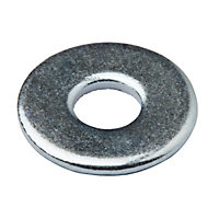 Diall M4 Carbon steel Penny Washer, Pack of 10