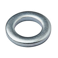 Diall M5 Carbon steel Screw cup Washer, Pack of 25