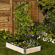 Verve Plastic Raised bed liner Large