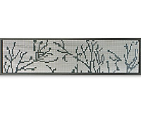 Blooma Neva Dots 1/4 Fence panel (W)0.44m (H)1.79m