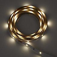 Mains-powered LED White Strip light IP20 200lm (L)1.5m