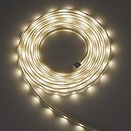 Colours Hailey Mains-powered White LED Strip light starter kit IP65 400lm (L)5m