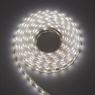 Blooma Holli Solar-powered LED White Strip light IP44 14lm
